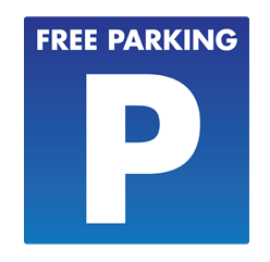 free parking slider Blackpool B&B